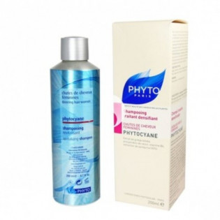 Phyto Phytocyane Shampooing traitant densifiant Chute de cheveux féminines. Flacon de 200ML