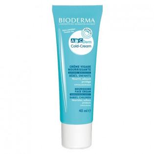 Bioderma ABCDerm Cold Cream Crème Visage Nourrissante bébé. Tube 40ML