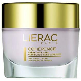 Lierac Coherence Crème jour & nuit correction rides & fermeté. Pot 50ML