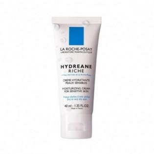 La Roche-Posay Hydréane Riche Crème Hydratante Peaux sensibles & sèches. Tube 40ML