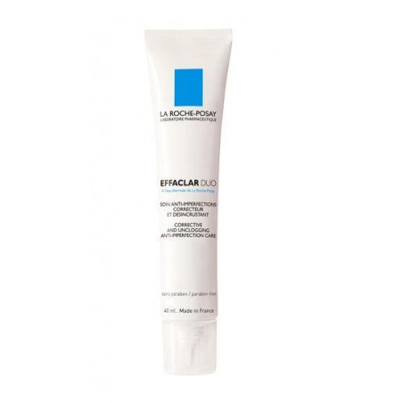La Roche-Posay Effaclar Duo+ Soin anti imperfections correcteur désincrustant anti marques. Tube 40ML