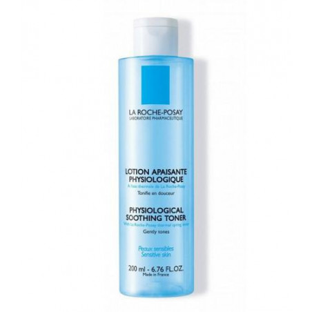 La Roche-Posay Lotion apaisante physiologique. Flacon de 200ML
