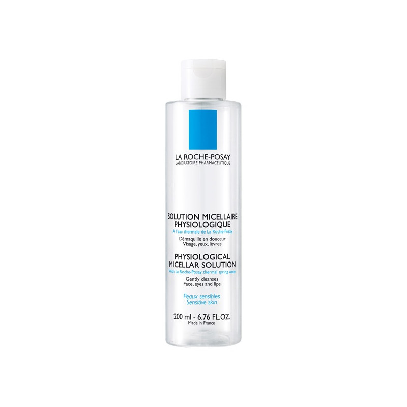 La Roche Posay Solution micellaire physiologique. Flacon 200ML