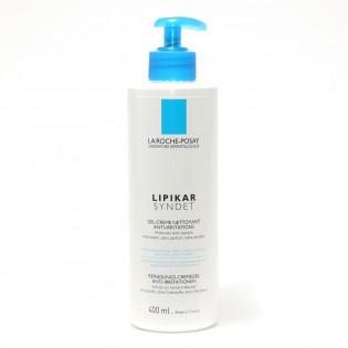 La Roche Posay Lipikar Syndet Gel-crème Nettoyant anti-irritations. Tube 400ML