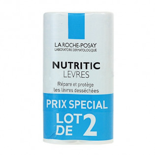 La Roche Posay Nutritic Lèvres - Lot 2 sticks 4,7ML