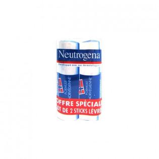 Neutrogena Stick Lèvres Lot de 2x4,8G