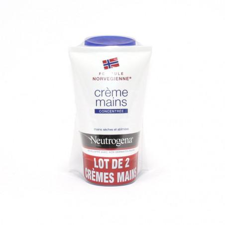 Neutrogena Crème mains parfumée. Lot de 2 Tubes de 75ML