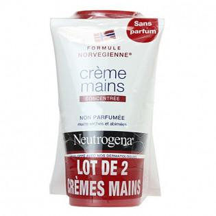 Neutrogena Crème Mains Non Parfumée. Lot 2x50ML
